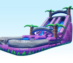 24ft Purple Crush Water Slide