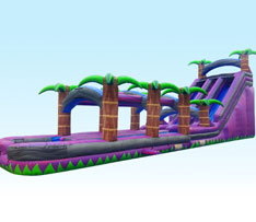 24ft Purple Crush with Slip & Slide