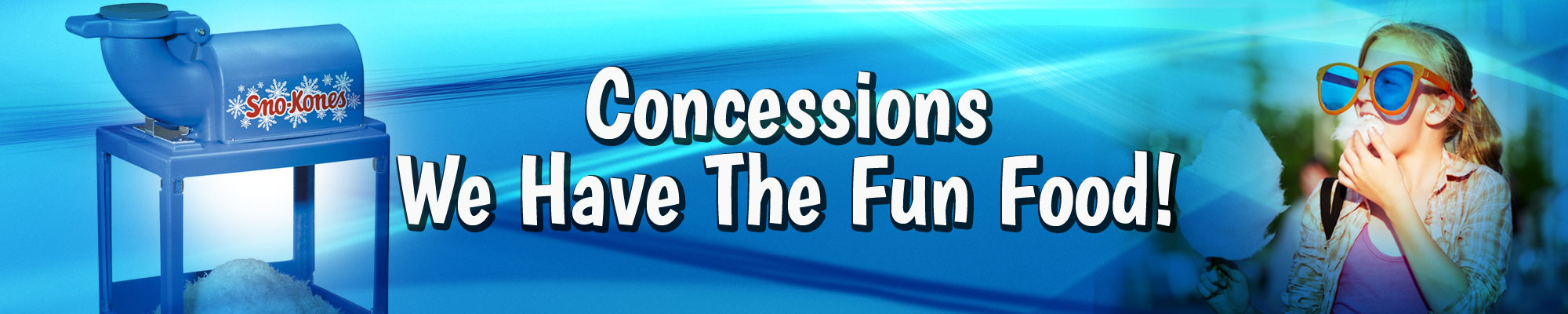 Concession Machines & Fun Foods
