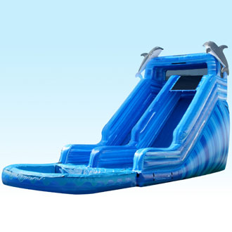 20ft Dolphin Water Slide