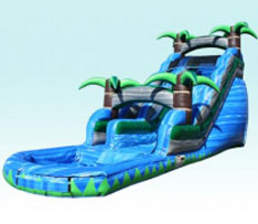 20ft wild rapids dry slide