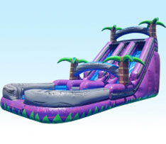 24ft purple crush dry slide