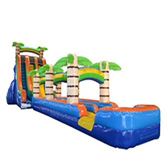 27ft Tropical Water Slide