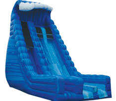 27ft blue crush dry slide