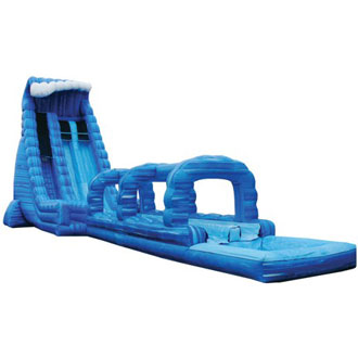 27ft Blue Crush with Slip & Slide
