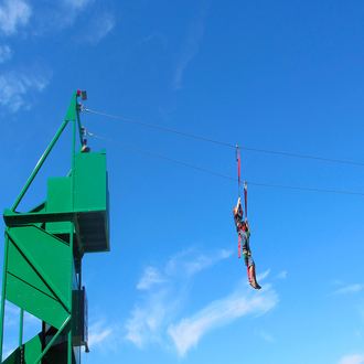Fly Wire Mobile Zip Line