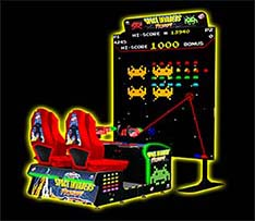 Giant Space Invaders Arcade
