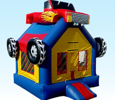 Boy Bounce House Package