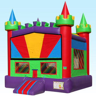 Purple Rainbow Castle