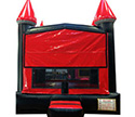 Red and Black Bouncy House