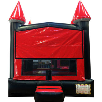 Red & Black Bounce House Rental