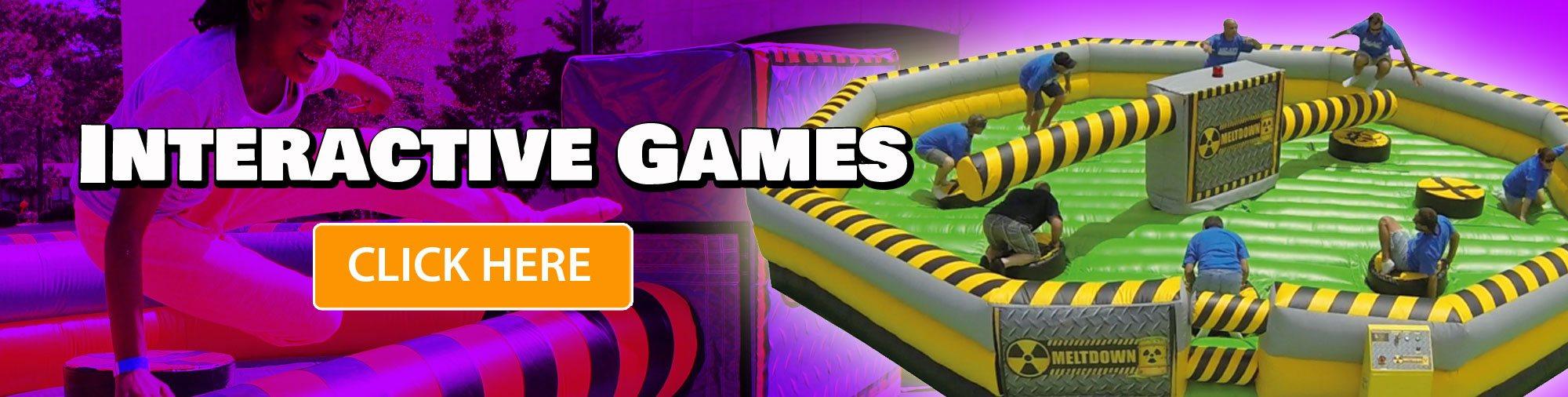 Combo Bouncer Rentals Water Slide Interactive Game